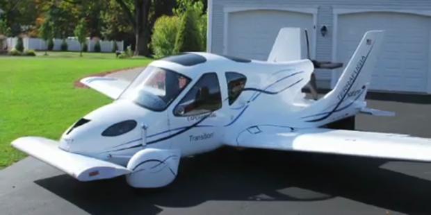 Prototyp von fliegendem Auto in NY präsentiert