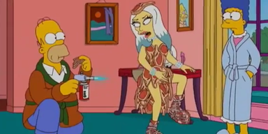 Gaga: Gastauftritt bei den Simpsons