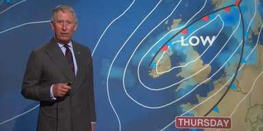 Prinz Charles als Wetterfrosch
