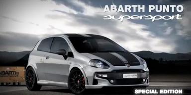 Der neue Fiat Abarth Punto SuperSport 2012