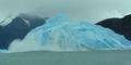 Eisberg dreht sich um eigene Achse