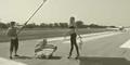 Patricia Kaiser: Hochschwanger auf Rollbahn