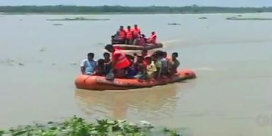 Flut in Indien: Mehr als 100 Todesopfer