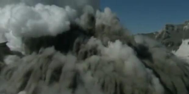 Vulkanausbruch hüllt Neuseeland in Asche