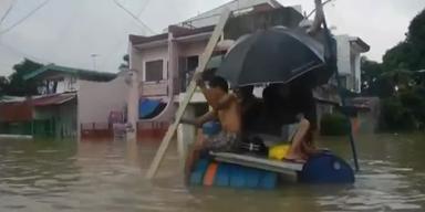 Philippinen: 2 Millionen von Sturmflut betroffen