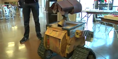 USA: Tüftler baute einen echten Wall-E 2