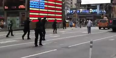 Polizisten erschießen Mann am Times Square