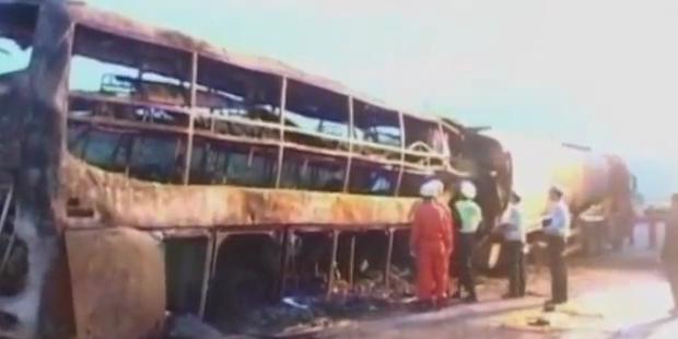 China: 36 Tote bei Kollision mit Tanker