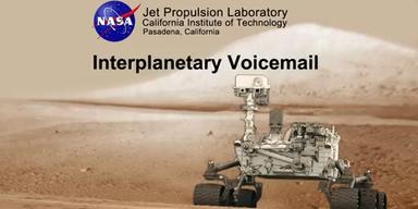 Mars: Curiosity schickt Audiobotschaft