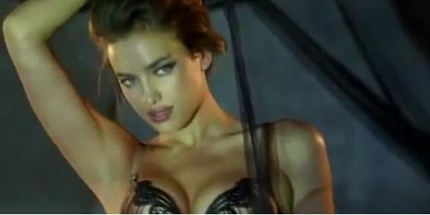 """Sexy Irina Shayk posiert für """"La Clover""""-Lingerie"""