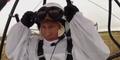 Putin fliegt mit den Kranichen
