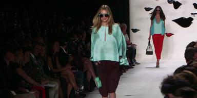 Fürstenberg rockte die New York Fashion Week