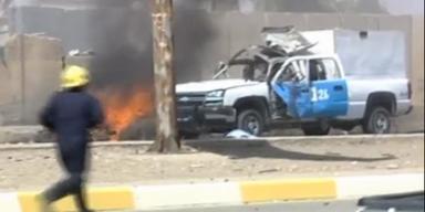 Über 100 Tote bei Anschlägen im Irak