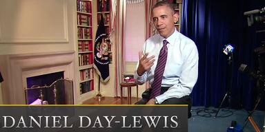 Obama als Daniel Day-Lewis als Obama