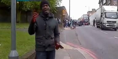 Video zeigt Londoner 'Macheten'-Attentäter