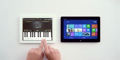 Windows wettert mit Siri gegen Apple's iPad