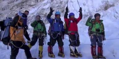 Japaner mit 80 ältester Mensch auf dem Everest