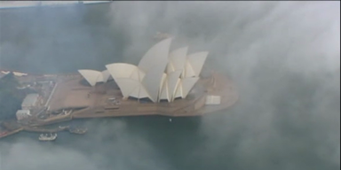 Spektakulär: Dichter Nebel verhüllt Sidney