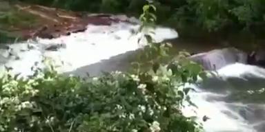 Spektakulär: Bach wird zu reißendem Fluss