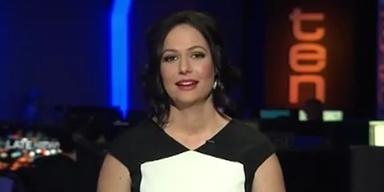 Peinlich: TV-Sprecherin bekommt Lachanfall