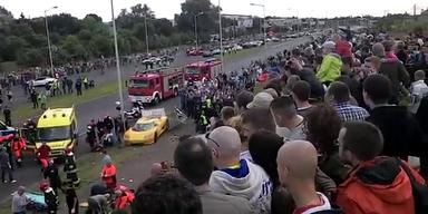 Polen: 19 Verletzte bei Sportwagenrennen