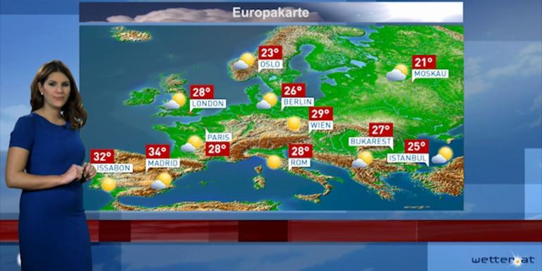 Reisewetter Europa