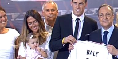Tausende Real-Fans feiern Gareth Bale