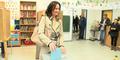 Glawischnigs Wahlgang in Wien Hernals