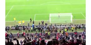 Massenschlägerei vor Euro-League-Finale