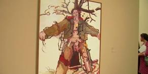 Kunstausstelllung von Georg Baselitz