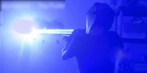 Gefährliche Laser Bazooka