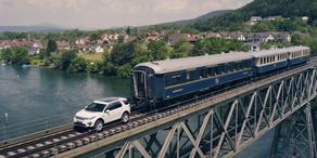 Discovery Sport zieht 100 Tonnen schweren Zug