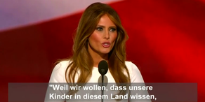 Melania und Michelle Rede im Vergleich, deutsche Untertitel