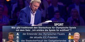 Auweia! Becker patzt bei Olympia-Frage