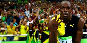 Usain Bolt macht sich zur Legende