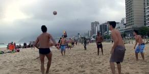 Beach Soccer begeistert die Leute