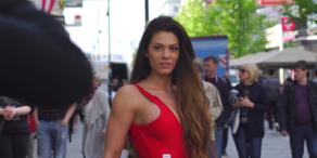 Miss Vienna: Kandidatinnen posen auf Kärntnerstraße