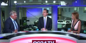 Bundeskanzler Kern im oe24.TV-Sommergespräch