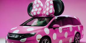 Honda-Minivan für Minnie Maus