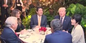 Japans First Lady verweigert Gespräch mit Trump