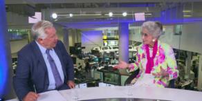 Lotte Tobisch im großen oe24.TV-Talk