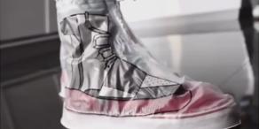 Neuester Trend: Regenmantel für Schuhe