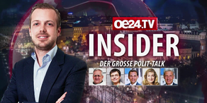 Die Insider: der große Polit-Talk auf oe24.TV