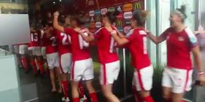 ÖFB-Frauen-Nationalteam feiert nach Einzug ins Viertelfinale