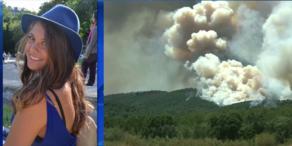 Nizza brennt: oe24.TV-Reporterin in der Flammenhölle