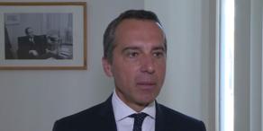 Bundeskanzler Kern im exklusiven oe24.TV.Interview