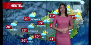 Aktuelle Wetterprognose für Montag (21.8.)