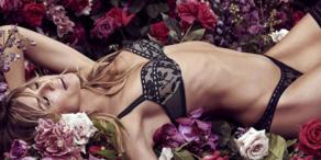 Heidi Klum zeigt ihre neue Dessous-Kollektion
