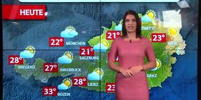 Aktuelle Wetterprognose für Mittwoch (23.8.)