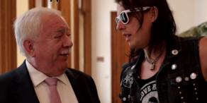 Marco Pogo: Audienz bei Bürgermeister Häupl